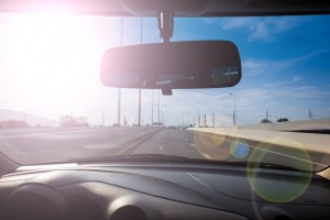 Sun exposure while driving